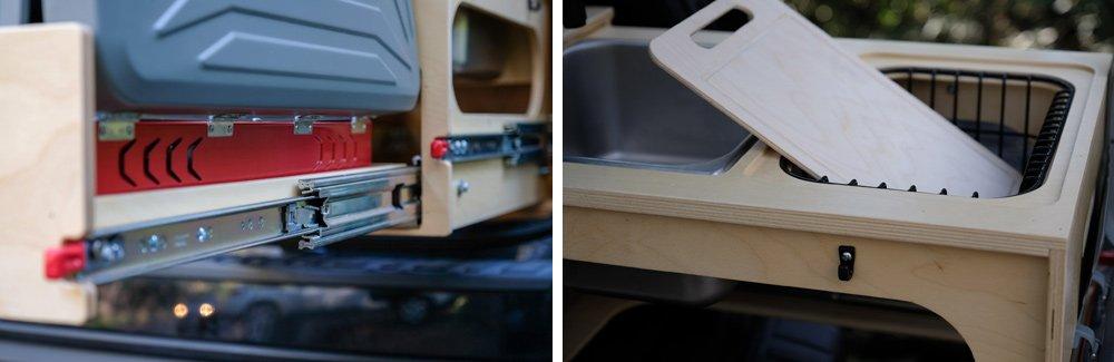 Overland Slide-Out Kitchen System