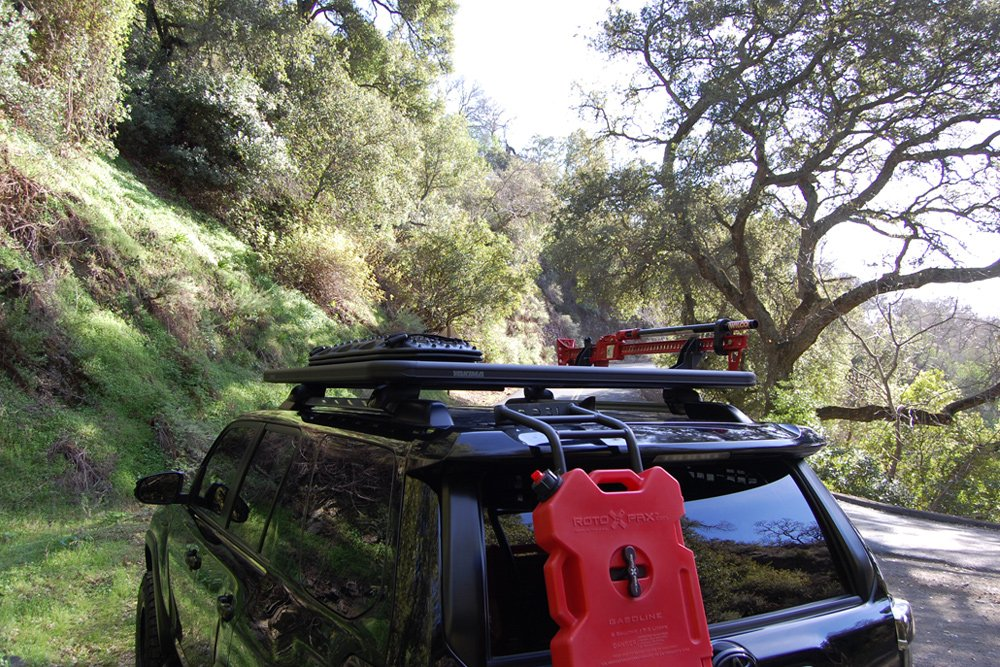 Yakima LockNLoad Rack System Review For the 5th Gen 4Runner: Yakima Roof Rack Mounts