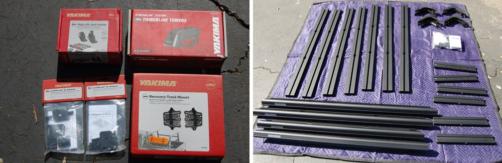 Yakima LockNLoad Rack System Review For the 5th Gen 4Runner: Price & Product