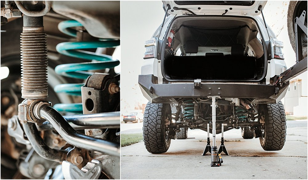 Blackgate Customs, KDSS Rear Sway Bar Drop Kit (Spacers) Step-By-Step Install For the 5th Gen 4Runner