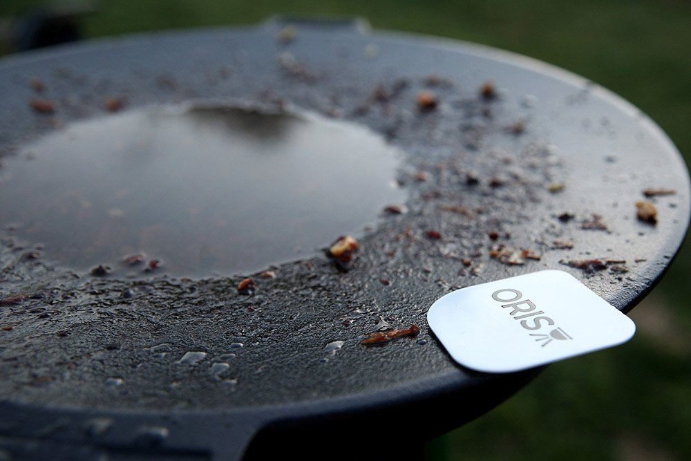 Cleaning the Oris Skottle Overland Grill