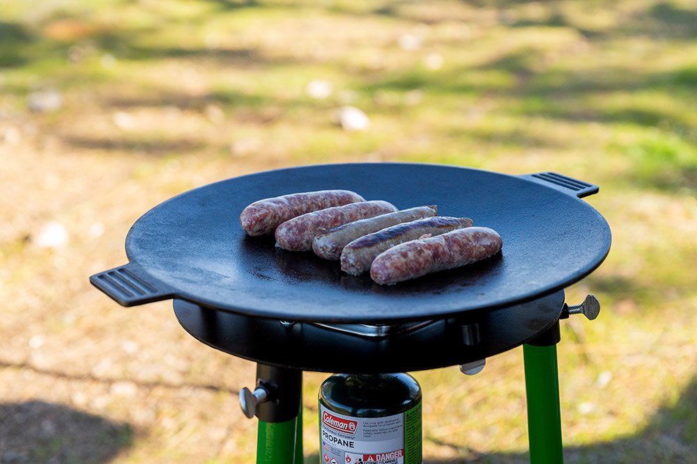 Oris Skottle Overland Grill Portable for Camping with Cast Iron