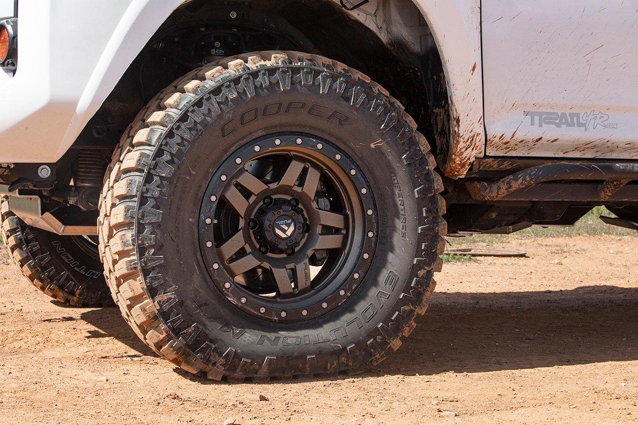 Cooper Evolution M/T (Mud Terrain) Tires