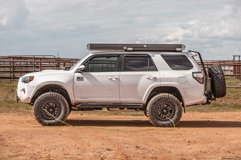 Cooper Evolution MT Tires on 4Runner