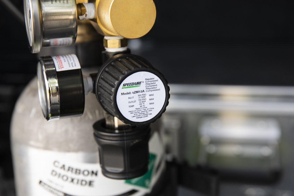 Second Regulator (output pressure)