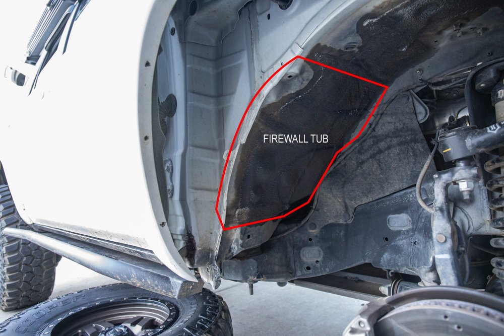 """Cutting/ Relocating the Firewall """"The Firewall Tub"""""""