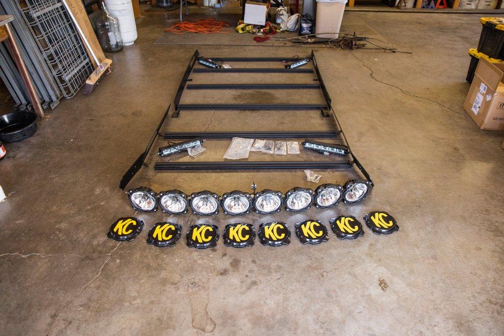 KC Pro6 M-RACK Install