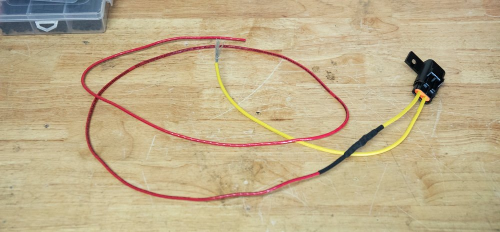 Build Power and Inline Fuse Harness