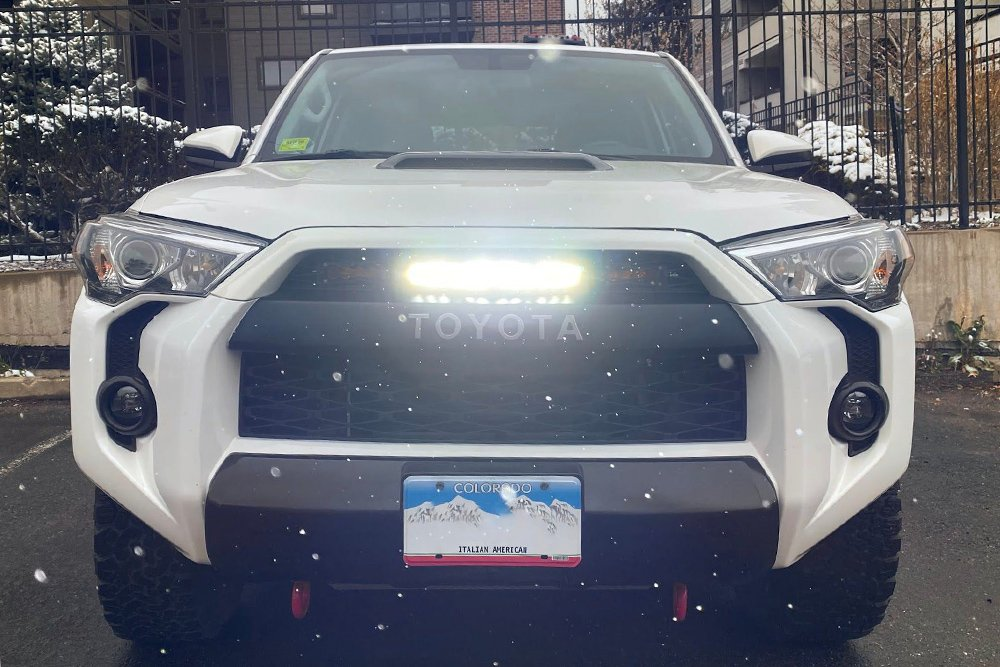 Off-Road Behind-the-Grill LED Light Bar Install Overview & Initial Impressions For the 5th Gen 4Runner