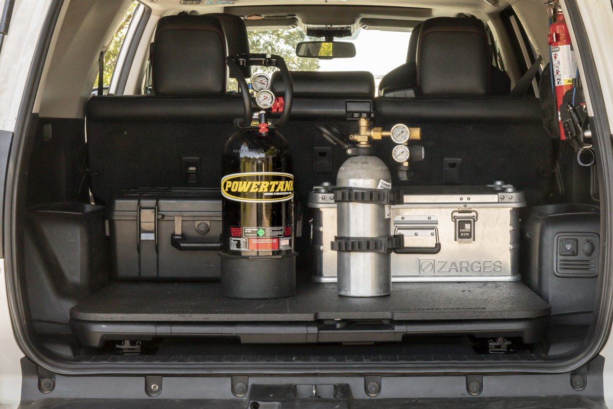 CO2 Tanks for Airing Up Tires