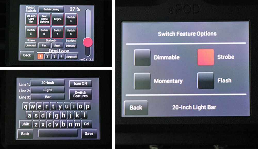 sPOD BantamX 8-Circuit Switch System Review + Step-By-Step Install For 5th Gen 4Runner: HD Touchscreen Controller