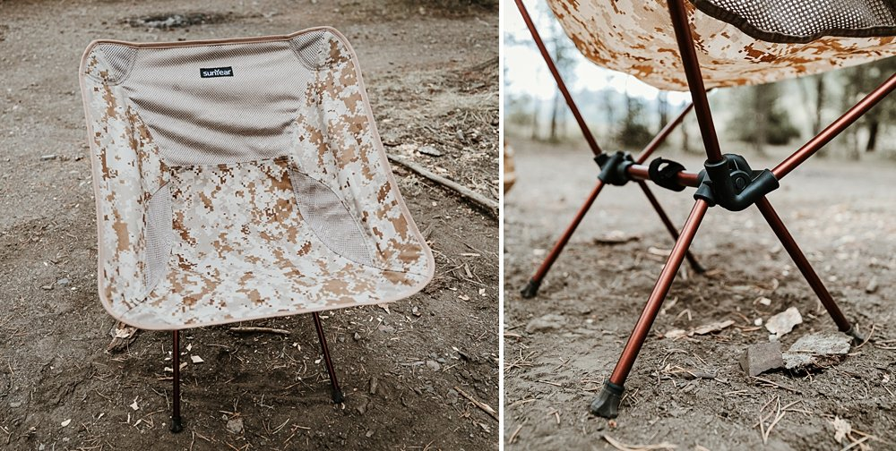 Sunyear Lightweight Compact Folding Camping Chairs For the 5th Gen 4Runner