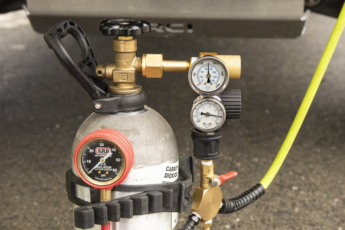 Tank Gauges for CO2 OffRoad and Overland Use