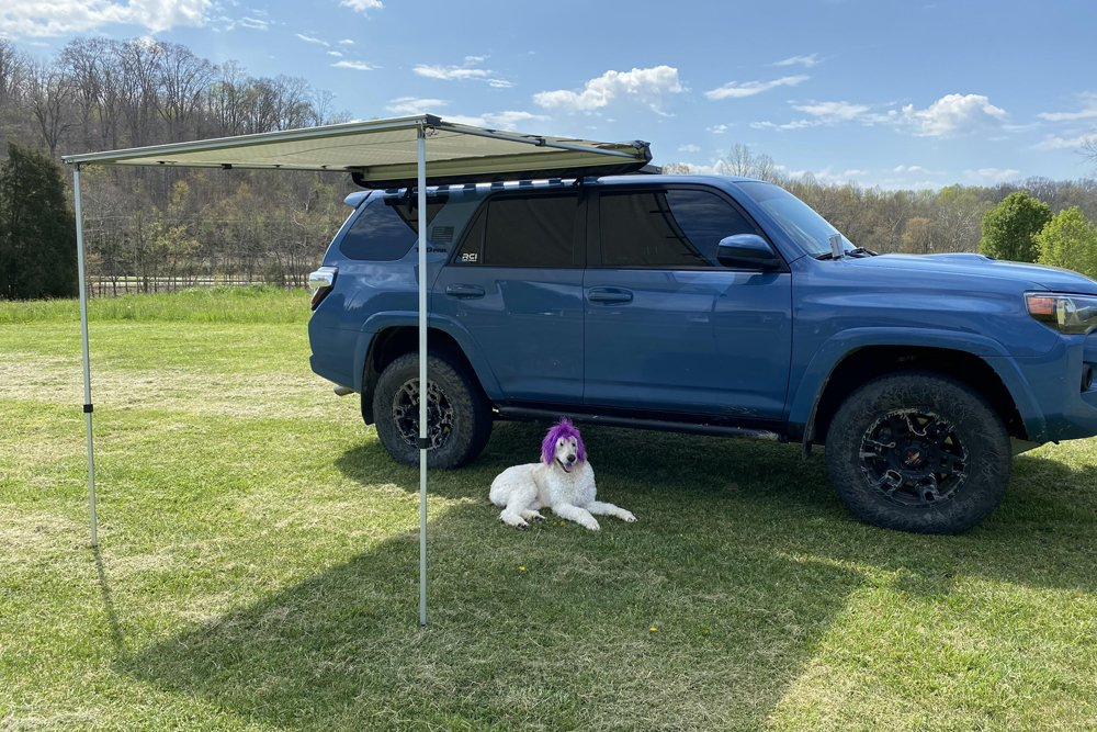 Yakima Slim Shady Awning + Front Runner Mounts Step-By-Step Install + Overview For the 5th Gen 4Runner