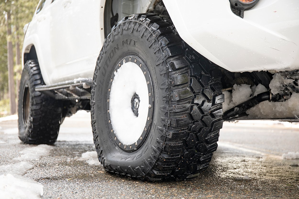 Cooper Evo MT Snow Tires