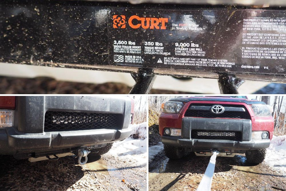 Curt Front Receiver Hitch Trail-Tested Review + Install For the 5th Gen 4Runner