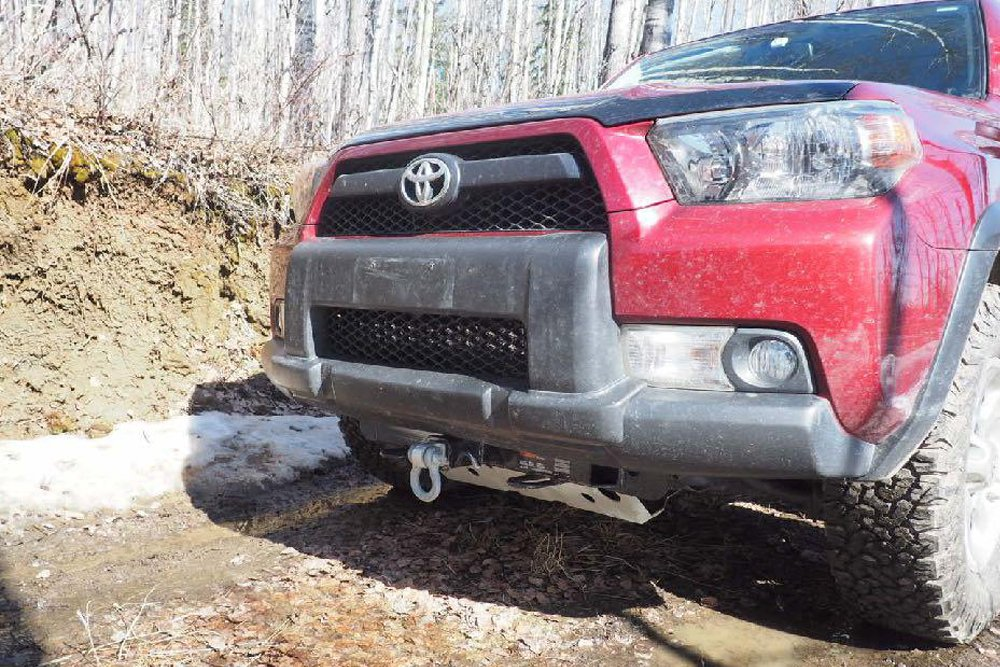 Curt Front Receiver Hitch Review + Install For the 5th Gen 4Runner
