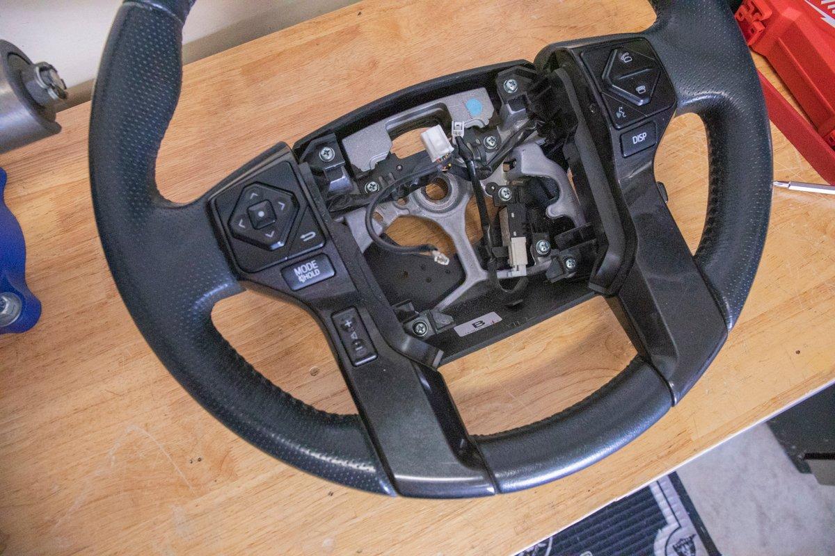 Pull Steering Wheel off Column