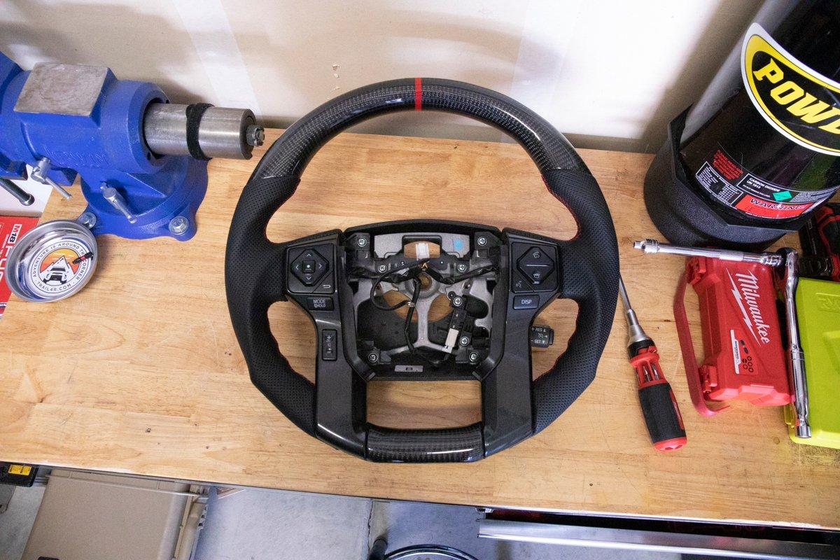 Re-Install Steering Wheel Controls