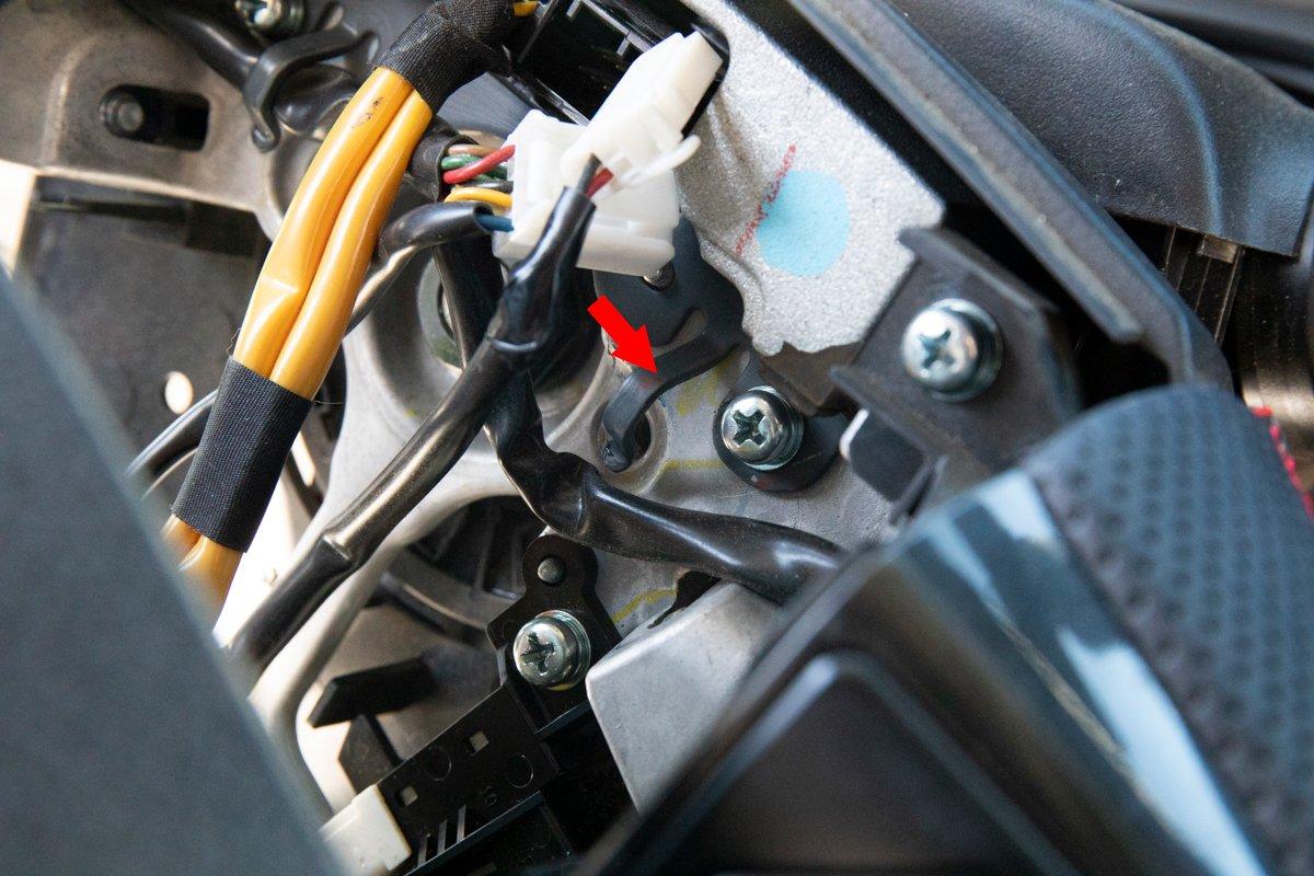Re-Install Steering Wheel