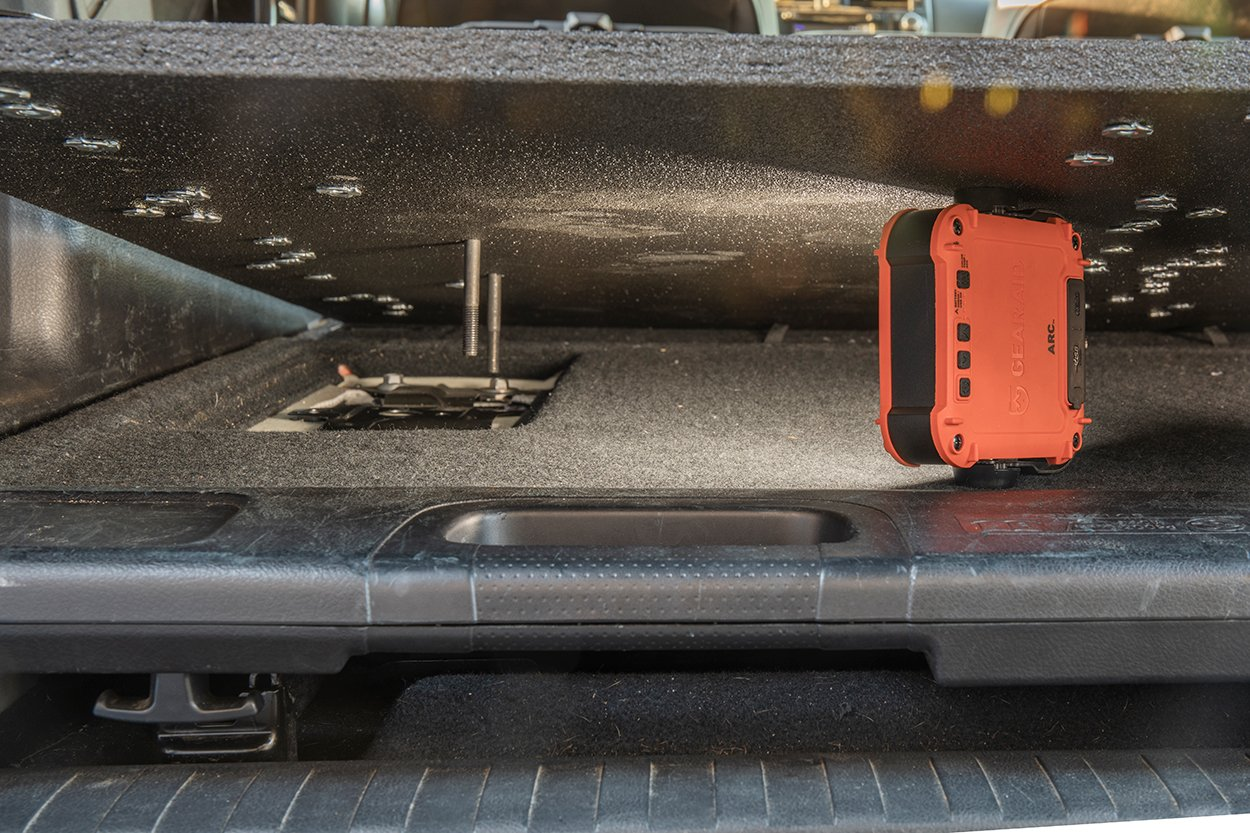 Position bolts through gear plate