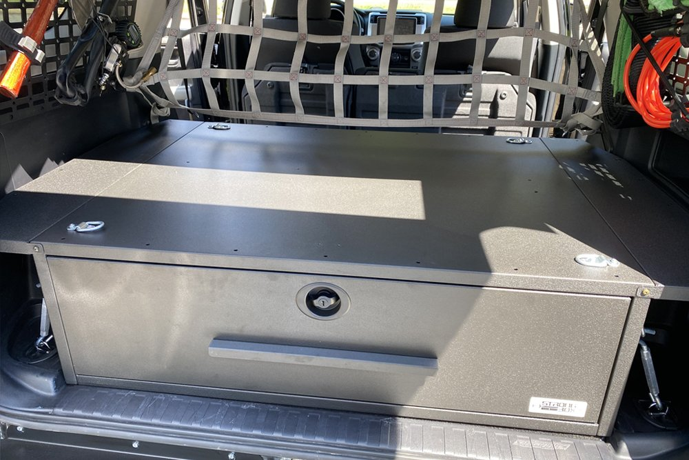 BOSS StrongBox Custom Drawer System Step-By-Step Install and Review for the 5th Gen 4Runner