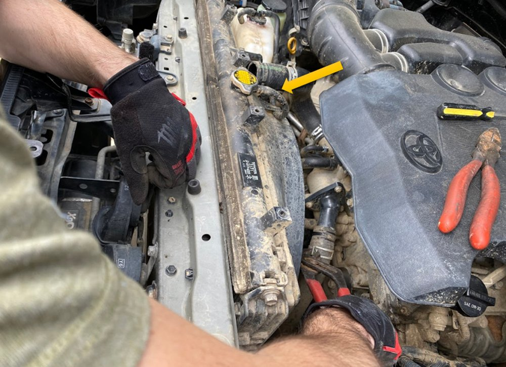 CSF High-Performance Radiator Step-By-Step Install + Review For the 5th Gen 4Runner