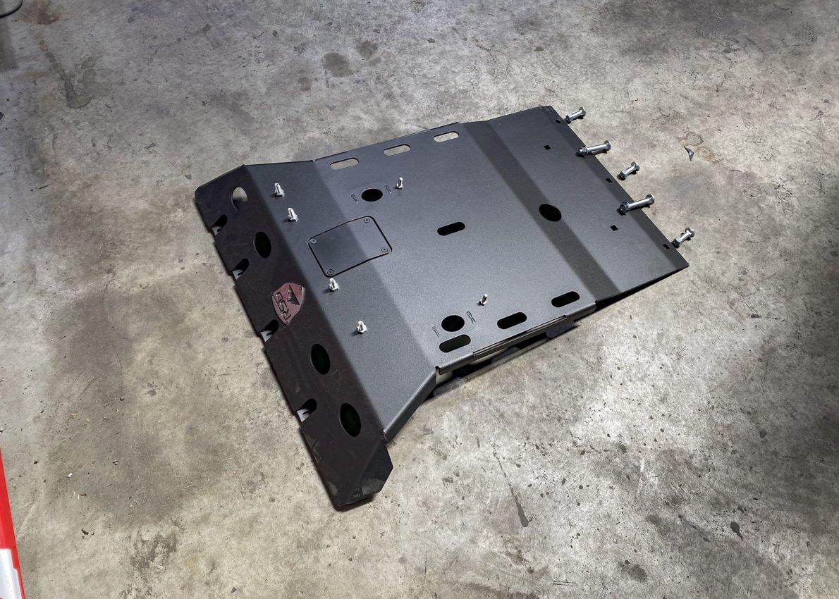 Prep RSG Skid Plate