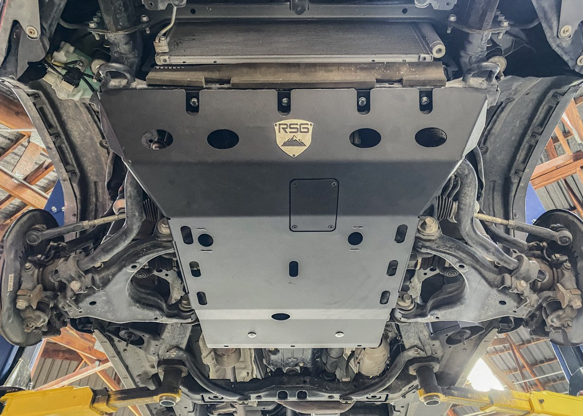 RSG Offroad Skid Plate Install
