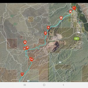 OnX Offroad App: GPS Mapping Software For Off-Roading & Overlanding in the 5th Gen 4Runner