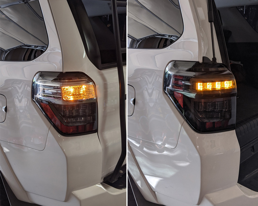 Anzo Black/Smoke Sequential Fiber Optic LED Tail Lights Install & Review For the 5th Gen 4Runner