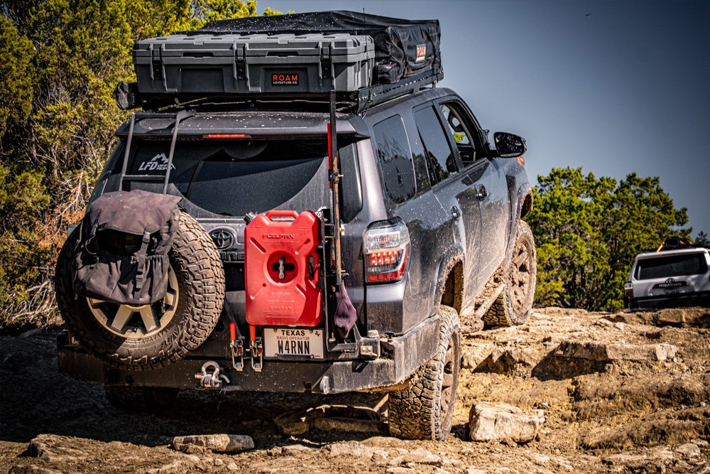 LFD Off-Road Full Length Aluminum Roof Rack