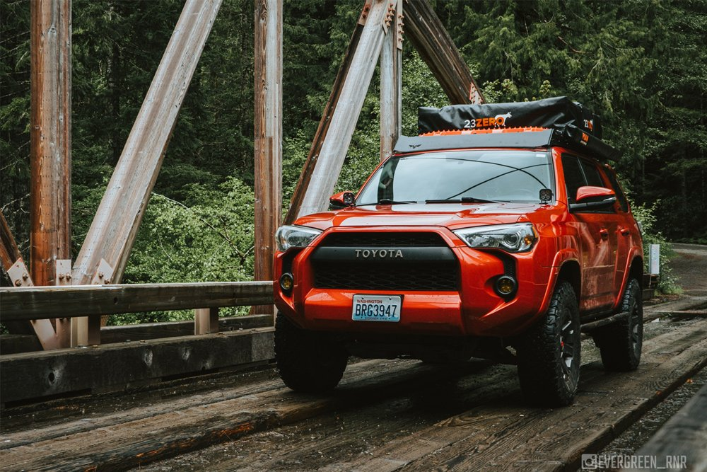 Victory4x4 Full-Length 4Runner No-Drill Roof Rack