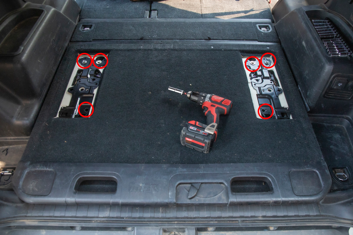 Remove Cargo Tray