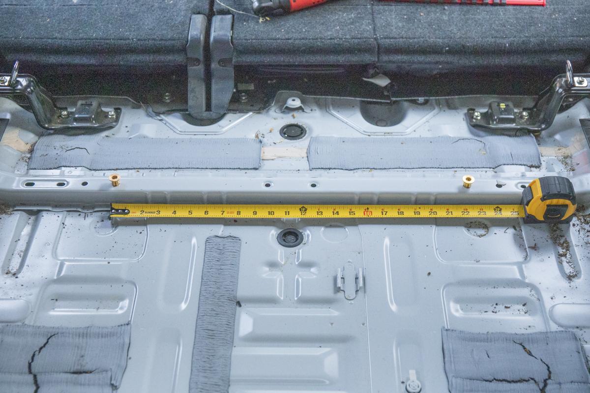 Install TruckVault Rivnut