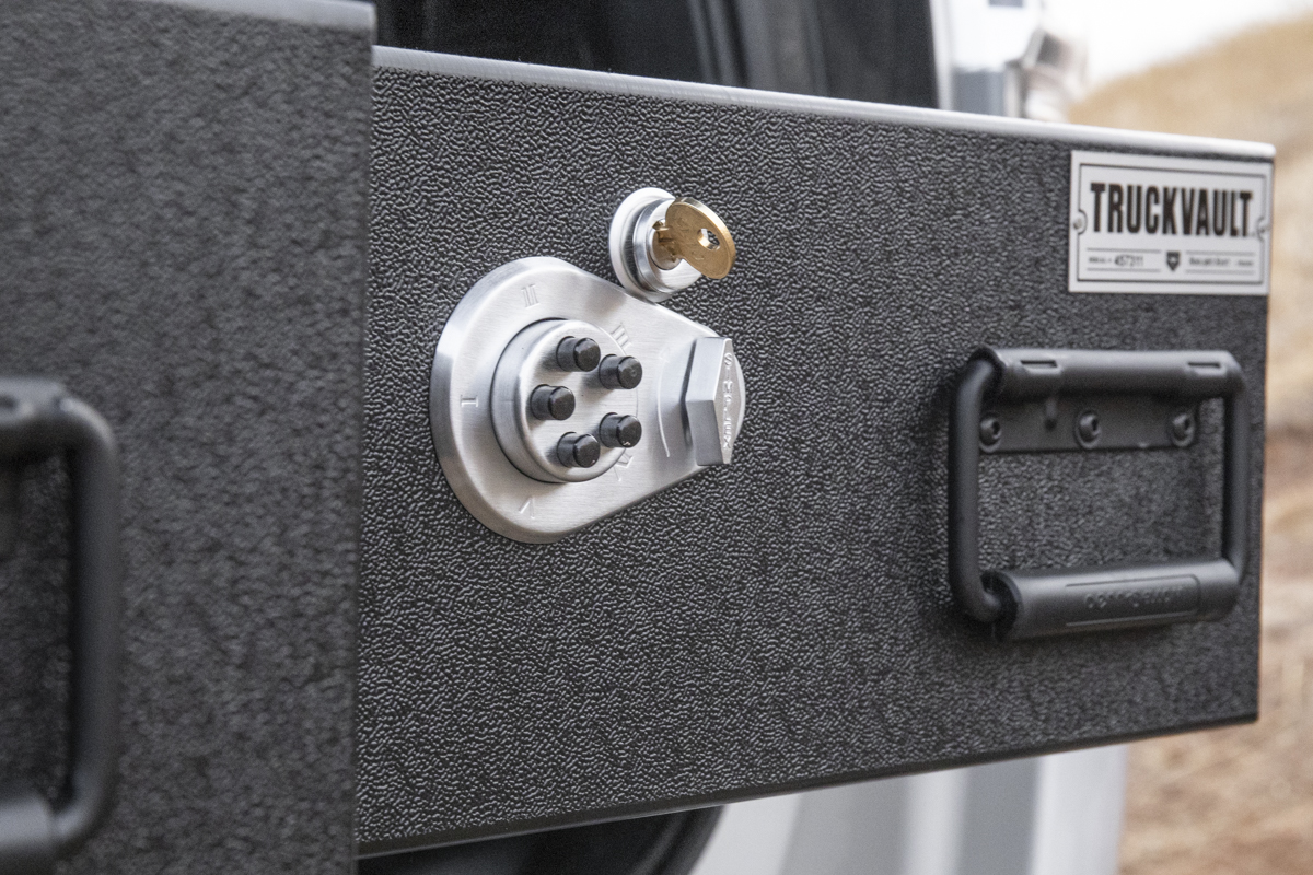 Locks for Overland Drawer System