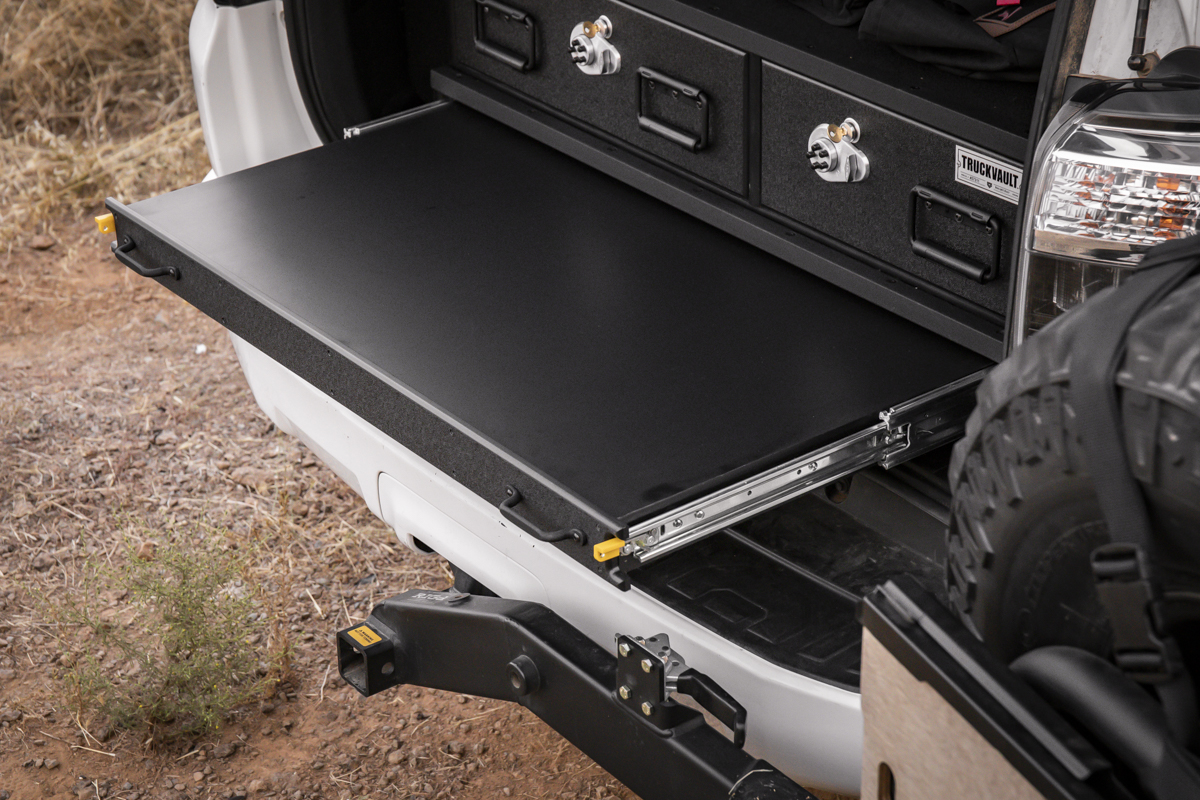 Drawer System with Table for 4Runner
