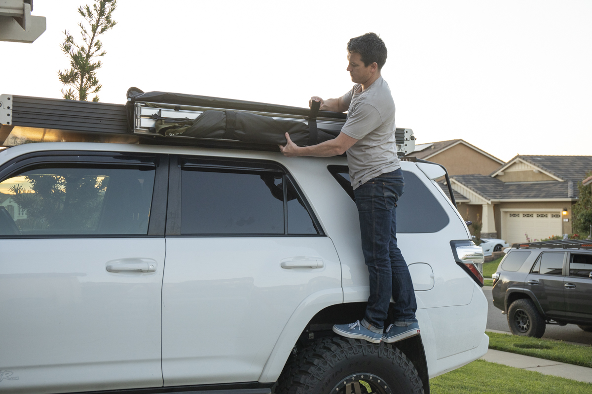 Mounting a 23 Zero Overland Awning on GFC Rooftop Tent