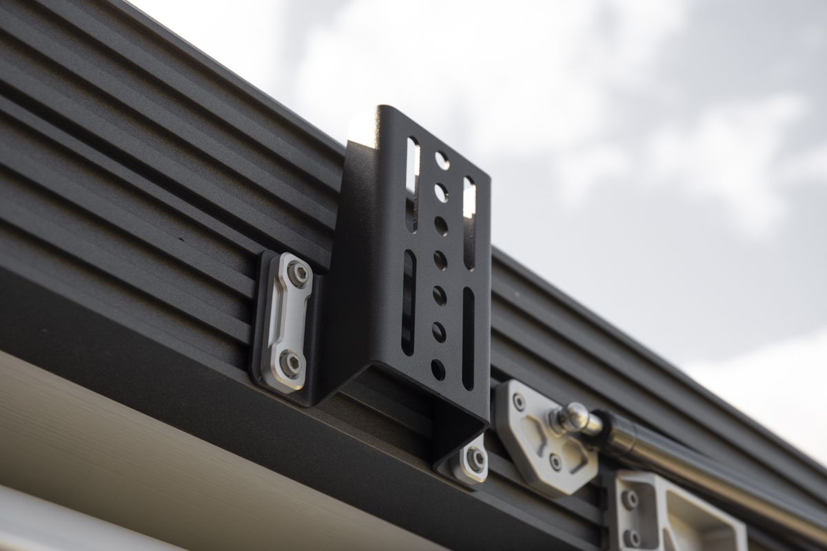 GFC Universal Rooftop Tent Awning & Recovery Gear Mounting Brackets for Racks and Rooftop Tents