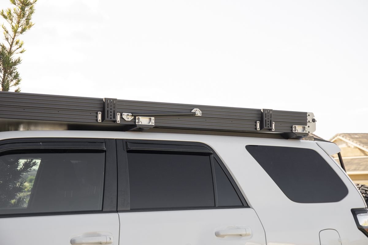 Awning Mounting Brackets for Roof Racks and Rooftop Tents