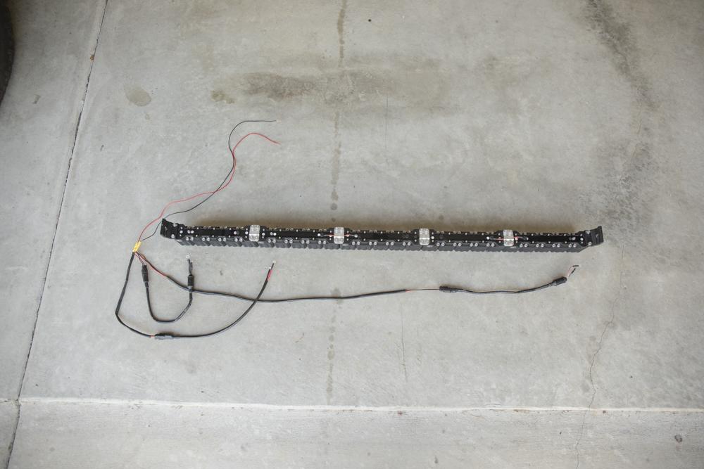"""Build your final harness (KC 50"""" Lightbar Wiring)"""