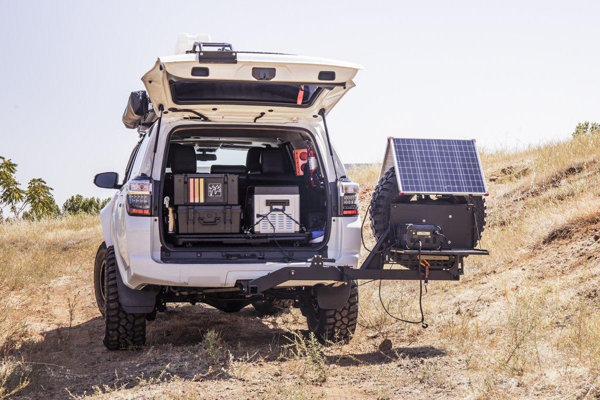 Solar Power Charging - Overlanding Solar Power Station