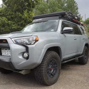Yakima RoadShower 4L – Pressurized and Solar Heated Hot Water on Demand For the 2017 5th Gen 4Runner TRD Pro