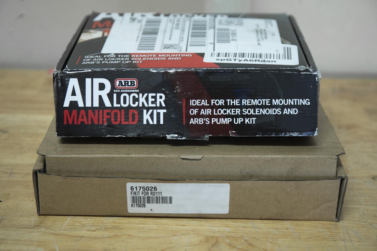 ARB Air Locker Manifold Install Kit