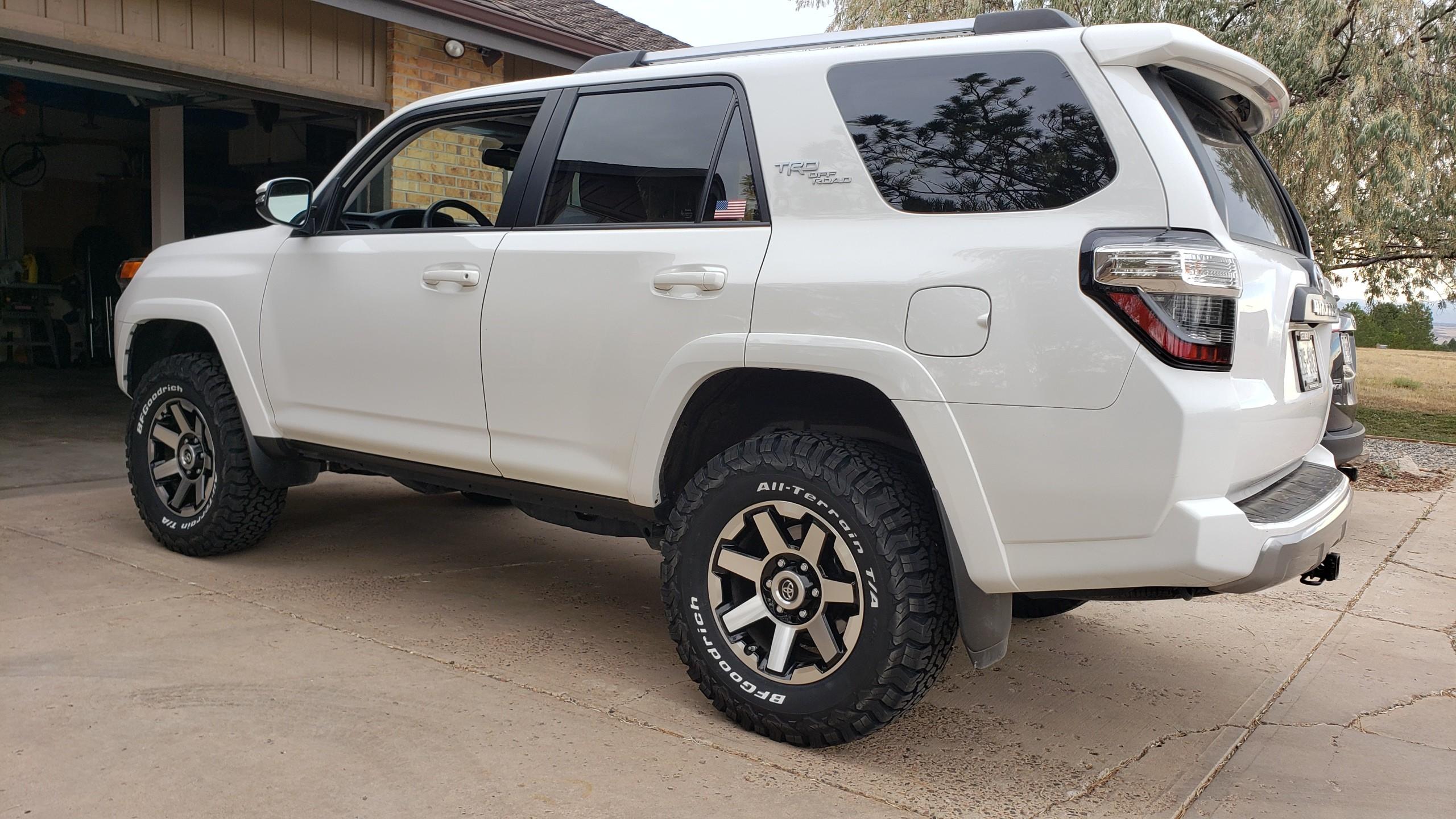 TRD Off-Road Premium Wheels