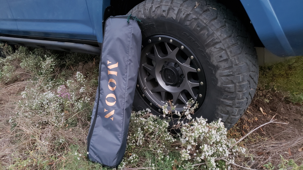 MoonShade: Compact, Lightweight, Portable Awning - Full In-Depth Review For the 5th Gen 4Runner