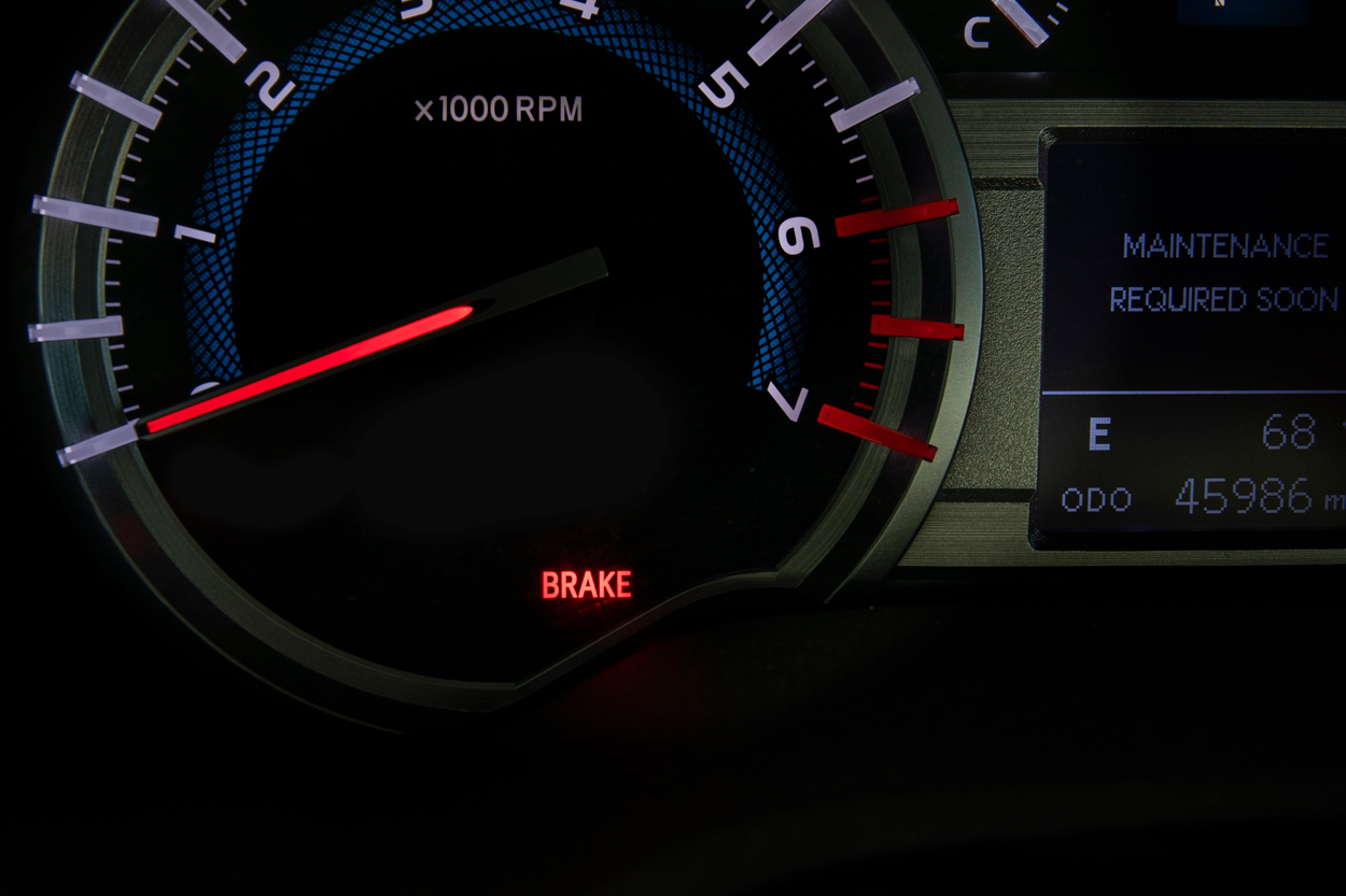 "Brake System Warning Lights ""Warning Buzzer"" (US & Canada Have Different Lights)"