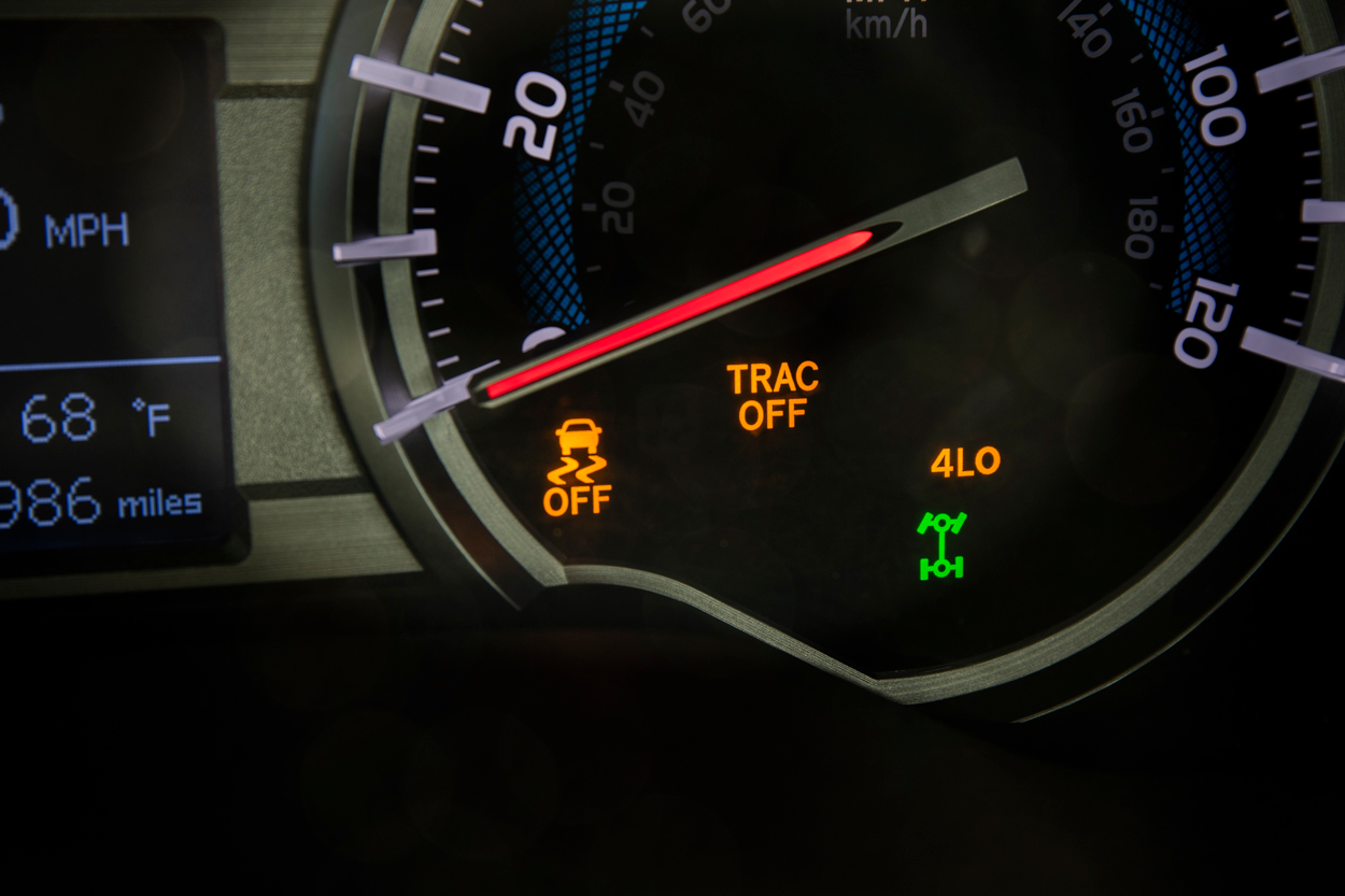 Low-Speed 4WD Indicator