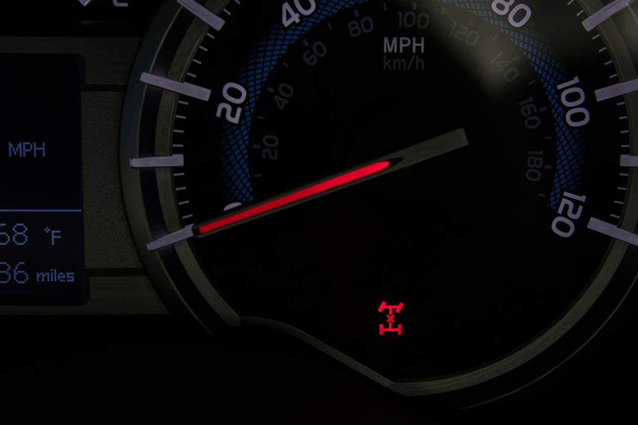 Center Differential Lock Indicator