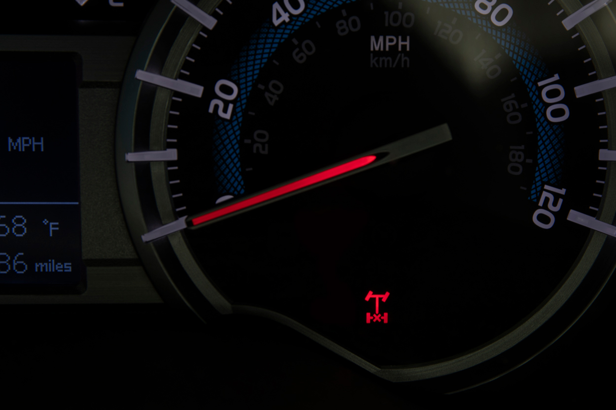 Rear Differential Lock Indicator